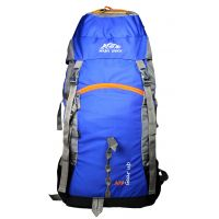 Mount Track Gear Up 9111 Rucksack, Hiking Backpack 60 Ltrs Neon Blue