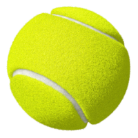 CRICKET - TENNIS BALL Set Of 4