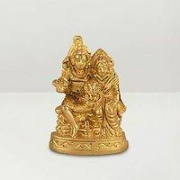 1st Home Shiva Parvathi Ganapathi One Statue