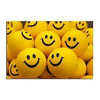 SMILEY FACE SQUEEZE BALL – SET OF 12
