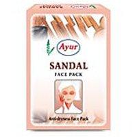 Ayur SANDAL Face Pack 100gm   Pack Of 6