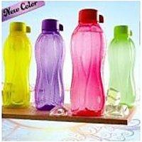 Tupperware 1 Litre Water Bottle (Set Of 4 Bottles) New Color