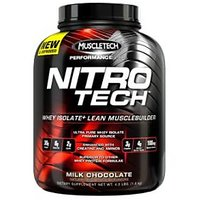 Muscletech Nitrotech Performance Series Choclate With Free Smart Shaker
