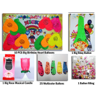 Birthday Party Balloons Birthday Party Supplies Musical Candle Balloons 36 Pcs
