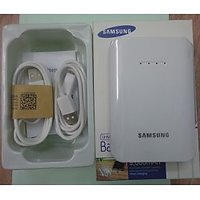 Samsung Universal 9000 MAH USB Extended Battery Pack Power Bank White Color