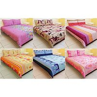Carah Exclusive Pack Of 6 Bedshets With 12 Pillow Covers CRH-DB126