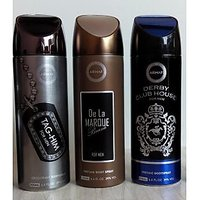 Combo Of Armaf Deodorants (Deo) For Men The Warrior + Tag Him + Dcb