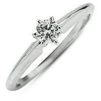 Certified 0.06 Cts. Real Natural Diamond Ring Design 1