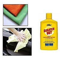 Formula 1 - Car & Bike Scratch Out With Microfiber Cloth Car Cleaning Kit