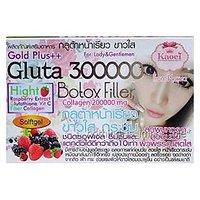 6 BOX SOFT GEL GLUTA 300000+COLLAGEN WHITENING SKIN ANTI OXIDANT ANTI AGING