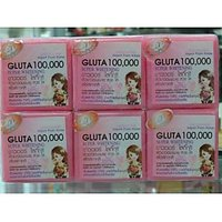 GLUTATHIONE SOAP 3 BARS GLUTA 100000 SUPER WHITENING SKIN BLEACHING FORMULA