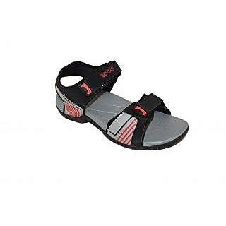 Floaters / Sandals - Mens Floaters - WSLJAGUAR4 - Black Color