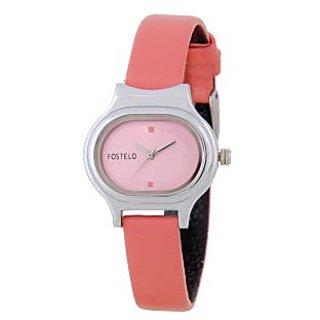 Fostelo Pink Women'S Wrist Watches Fst-01