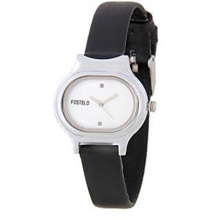 Fostelo Silver Women'S Wrist Watches Fst-05