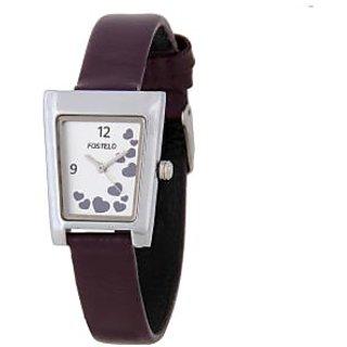 Fostelo Silver Women'S Wrist Watches Fst-06