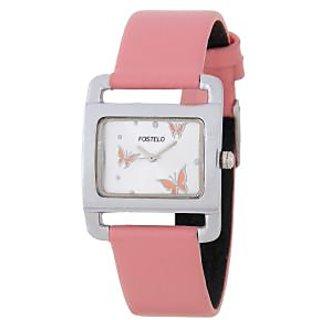 Fostelo Silver Women'S Wrist Watches Fst-10