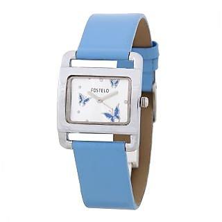 Fostelo Silver Women'S Wrist Watches Fst-11