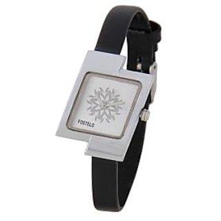 Fostelo Silver Women'S Wrist Watches Fst-13
