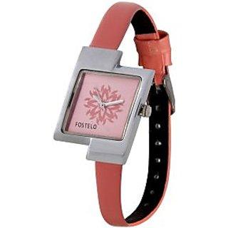 Fostelo Pink Women'S Wrist Watches Fst-16