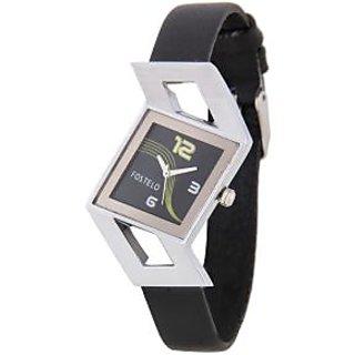 Fostelo Black Women'S Wrist Watches Fst-20