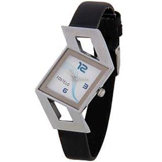 Fostelo White Women'S Wrist Watches Fst-21