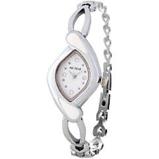 Fostelo White Women'S Wrist Watches Fst-23