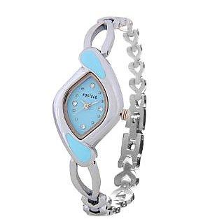 Fostelo Blue Women'S Wrist Watches Fst-24