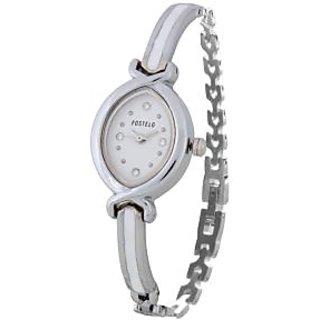 Fostelo White Women'S Wrist Watches Fst-25