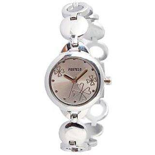 Fostelo Silver Women'S Wrist Watch Fst-47