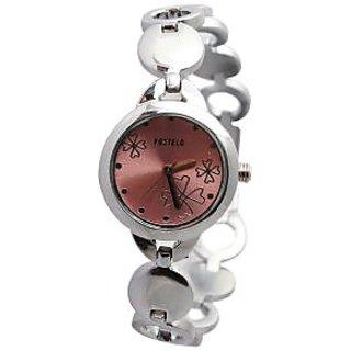 Fostelo Pink Women'S Wrist Watch Fst-49