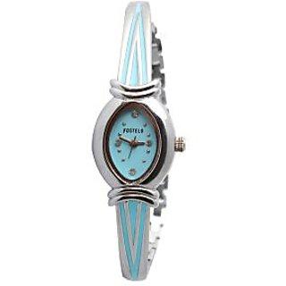 Fostelo Aquamarine Women'S Wrist Watch Fst-52