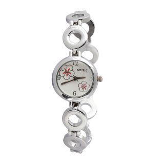 Fostelo White Women'S Wrist Watch Fst-56