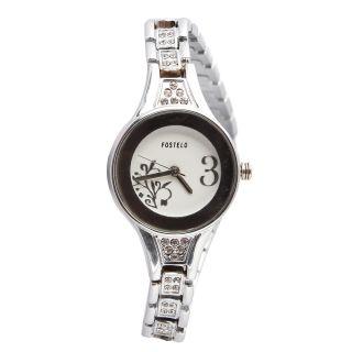 Fostelo White Women'S Wrist Watch Fst-58