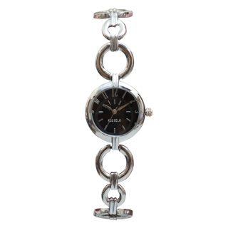 Fostelo Black Women'S Wrist Watch Fst-134