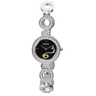 Fostelo Black Women'S Wrist Watch Fst-152