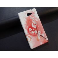 New Imported Soft Printed Back Cover For Sony Xperia M2