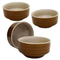 Bowl - Soup / Snack / Serving Bowls - Ceramic  Soup Bowl - Dinnerware - Set Of 6