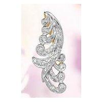 Bariki GH VVS Real Diamond BIS Hallmarked 18 Kt. Gold Pendant