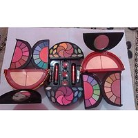 ADS FASHION MAKEUP KIT 64 EYE SHADOW 2 LIP COLOR 4 POWDER 8 BLUSHER ETC