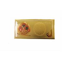 24 Kt Gold Foiled Envelope Ganesha Pack Of 5 Pcs