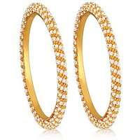 Alamod Fashion Spiral Pearl Bangle ALB 5024