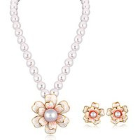 Alamod Fashion Esme Pearl Pendant Set ALNS 5071