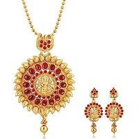 Alamod Fashion Indira Laxmi Pendant Set ALPS 5020