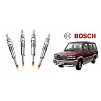 Bosch Car Diesel Glow Plug 077 (Set Of 4) (Set Of 4)-Toyota Qualis