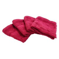 Towels - Hand / Face  Towels -  Color - Hand Woven Cotton Towel - Set Of 4