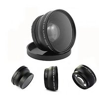 52MM 0.45X Wide Angle Lens With Macro + Lens Bag For Nikon D5000 D5100 D3100