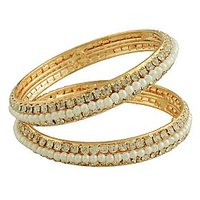 American Diamond Studded Bangles For Rakshabandhan BG-1819