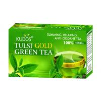 Kudos Tulsi Gold Green Tea 2g X 25 Tea Bags