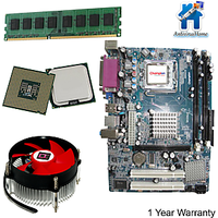 Intel Core 2 Due 1.8 + G31 MotherBoard + LT CPU Fan + 2GB DDR2 RAM Bundle