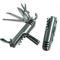 14 In 1 Multi-purpose Swiss Stainless Steel Army Knife